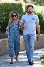 DENISE RICHARDS Out and About in Calabasas 07/24/2018