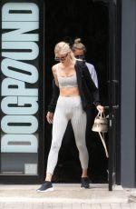 DEVON WINDSOR Leaves a Gym in New York 07/27/2018