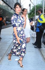 DIANE GUERRERO Promotes Her My Family Divided Book at Good Day New York 07/17/2018