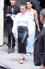 DIANE ROUXEL at Chanel Show at Haute Couture Fashion Week in Paris 07/03/2018