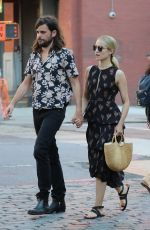 DIANNA AGRON and Winston Marshall Out in New York 07/09/2018