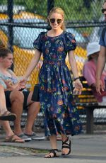 DIANNA AGRON Out and About in New York 07/18/2018