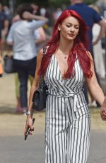 DIANNE BUSWELL and Anthony Quinlan at Wimbledon Tennis Championships in London 07/12/2018