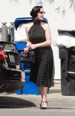 DITA VON TEESE Out and About in Hollywood 07/09/2018