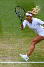 DOMINIKA CIBULKOVA at Wimbledon Tennis Championships in London 07/10/2018