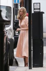 DONNA AIR Out and About in London 07/24/2018