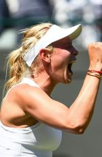 DONNA VEKIC at Wimbledon Tennis Championships in London 07/02/2018