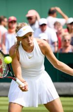 DONNA VEKIC at Wimbledon Tennis Championships in London 07/04/2018