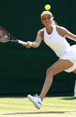 DONNA VEKIC at Wimbledon Tennis Championships in London 07/06/2018