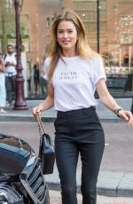 DOUTZEN KROES Out and About in Amsterdam 07/19/2018