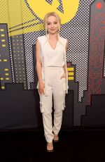 DOVE CAMERON at Pizza Hut Lounge at Comic-con in San Diego 07/19/2018
