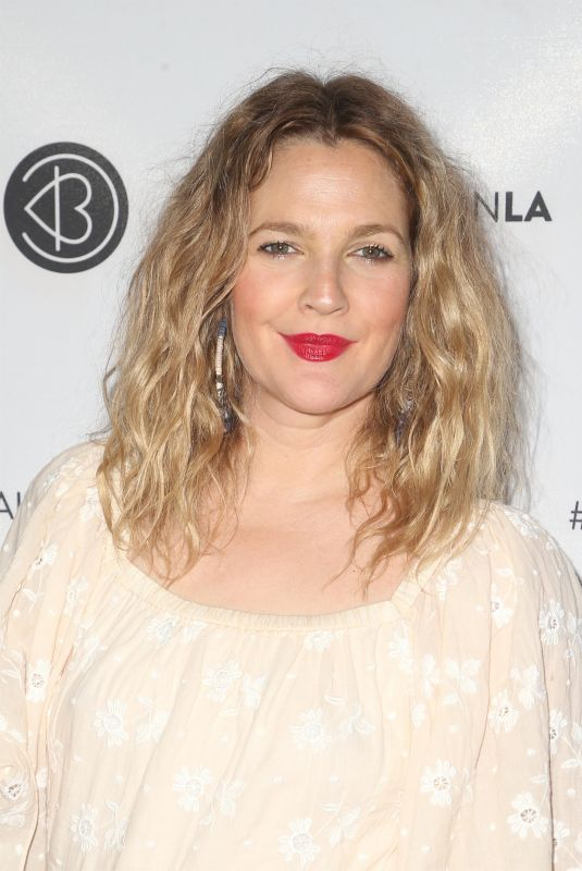 DREW BARRYMORE at Los Angeles Beautycon Festival 07/14/2018