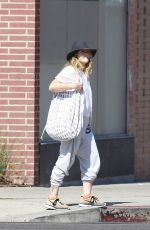 DREW BARRYMORE Leaves Yoga Class in Los Angeles 07/14/2018