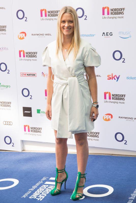 EDITH BOWMAN at O2 Silver Clef Awards in London 07/06/2018