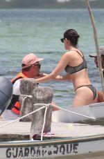 EIZA GONZALEZ in Bikini at a Beach in Mexico 07/01/2018