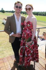 ELEANOR TOMLINSON at Audi Polo Challenge in Ascot 06/30/2018