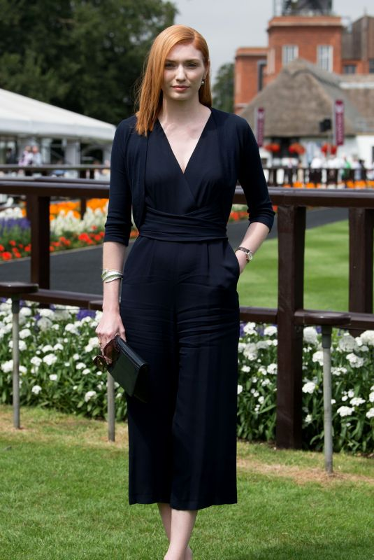 ELEANOR TOMLINSON at Moet & Chandon July Festival, Ladies Day at Newmarket Racecourse 07/12/2018