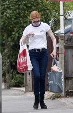ELEANOR TOMLINSON Out Shopping in London 07/20/2018