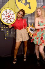 ELENA KAMPOURIS at Pizza Hut Lounge at Comic-con in San Diego 07/19/2018