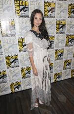 ELINE POWELL at Siren Photocall at Comic-con in San Diego 07/19/2018