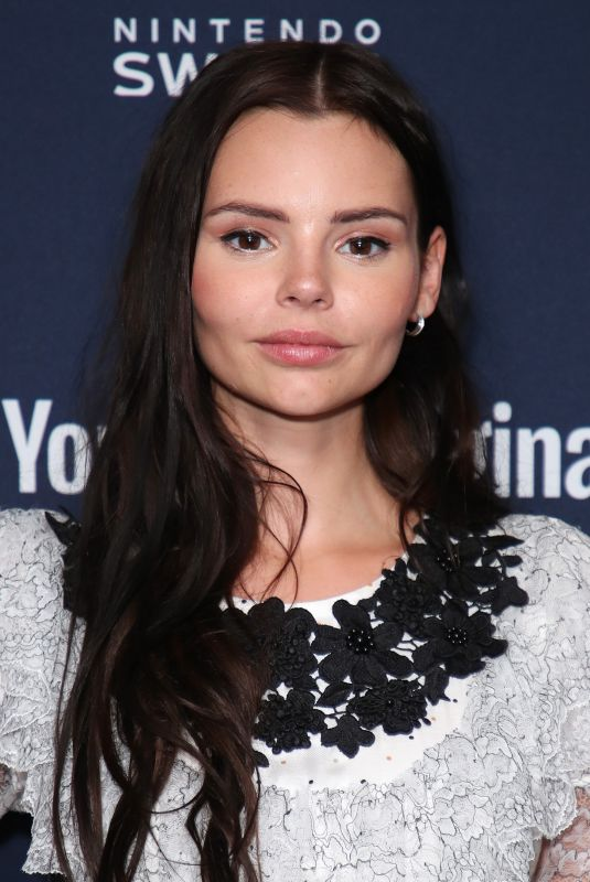 ELINE POWELL at Variety Studio at Comic-con in San Diego 07/19/2018