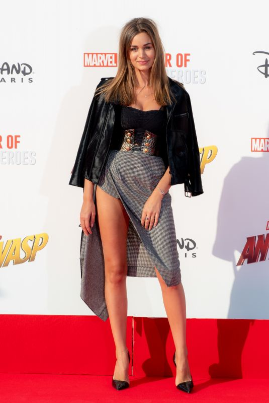 ELISA BACHIR BEY at Ant-man and the Wasp Premiere in Paris 04/17/2018
