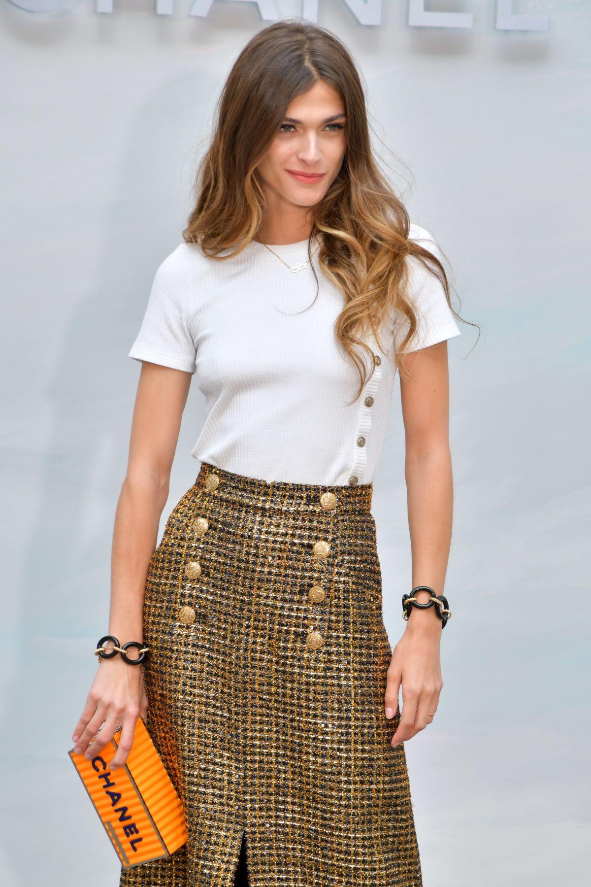 Elisa Sednaoui in Chanel - STYLE ICON: Elisa Sednaoui