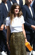 ELISA SEDNAOUI at Chanel Show at Haute Couture Fashion Week in Paris 07/03/2018