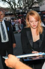 ELISABETH MOSS at Wilshire Ebell Theatre in Los Angeles 07/09/2018