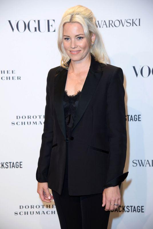 ELIZABETH BANKS at Vogue Fashion Party at Berlin Fashion Week 07/06/2018