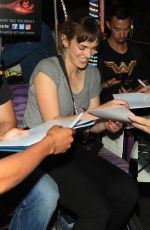 ELIZABETH HENSTRIDGE and Zachary Abel at Comic-con in San Diego 07/21/2018