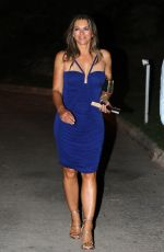 ELIZABETH HURLEY Night Out in Mallorca 07/27/2018