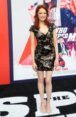 ELIZABETH J CARLISLE at The Spy Who Dumped Me Premiere in Los Angeles 07/25/2018