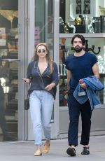 ELIZABETH OLSEN and Robbie Arnette at Arclight  Cinema 07/08/2018