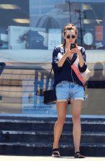 ELIZABETH OLSEN in Cutoff Out in Studio City 07/25/2018