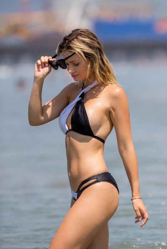 ELLA ROSE in Bikini at Santa Monica Beach 07/18/2018