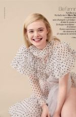 ELLE FANNING in Gioia Magazine, August 2018