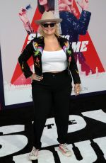 ELLE KING at The Spy Who Dumped Me Premiere in Los Angeles 07/25/2018