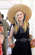 ELLIE BAMBER at Audi Polo Challenge at Coworth Park Polo Club 07/01/2018