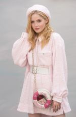 ELLIE BAMBER at Chanel Show at Haute Couture Fashion Week in Paris 07/03/2018