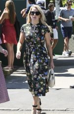 ELLIE GOULDING Out at Wimbledon 07/02/2018