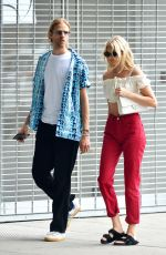 ELSA HOSK and Tom Daly Out in New York 07/11/2018