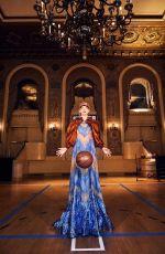 ELSA HOSK for Paper Magazine Sports Issue 2018, Baroque Basketball