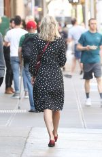 ELSA HOSK Out and About in New York 07/09/2018