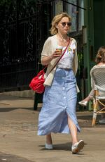EMILIA CLARKE Out for a Coffee in London 07/05/2018