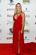 EMILIE TOMPKINS at World MMA Awards in Las Vegas 07/03/2018