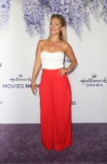 EMILIE ULLERUP at Hallmark Channel Summer TCA Party in Beverly Hills 07/27/2018