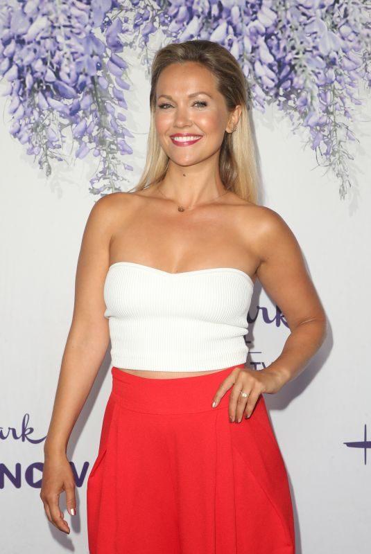 EMILIE ULLERUP at Hallmark Channel Summer TCA Party in Beverly Hills 07/27/2018