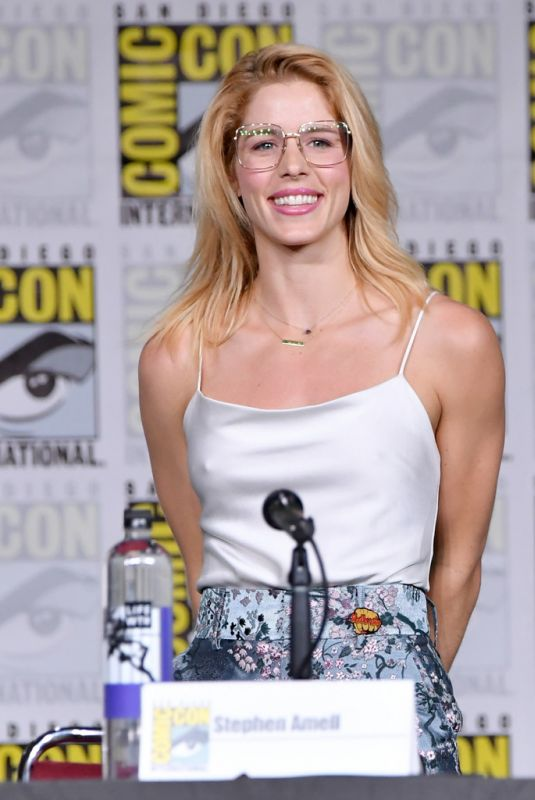 EMILY BETT RICKARDS at Arrow Panel at Comic-con in San Diego 07/21/2018