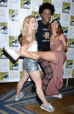 EMILY BETT RICKARDS at Comic-con 2018 in San Diego 07/21/2018